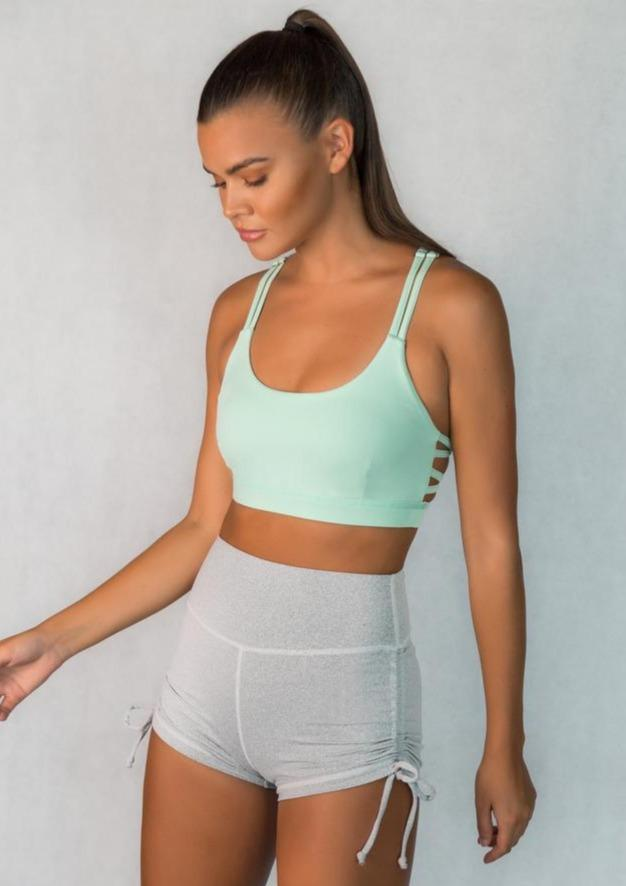 L'Couture Candy Sports Bra Mint - L'Couture Collections