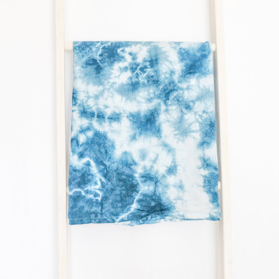 One-of-a-Kind Shibori Dish Towel