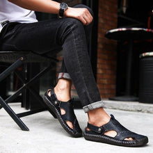 Load image into Gallery viewer, Durable Genuine Leather Sandal
