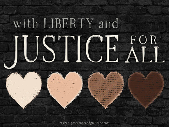 With Liberty and Justice for ALL 24