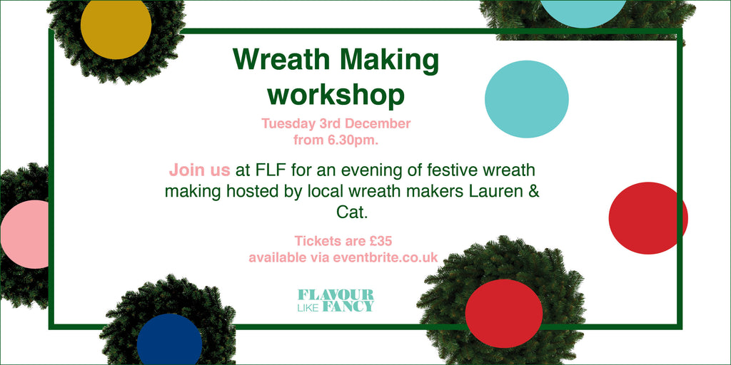 Wreath Making workshop 3rd December