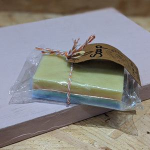 Orange scented goats milk soap