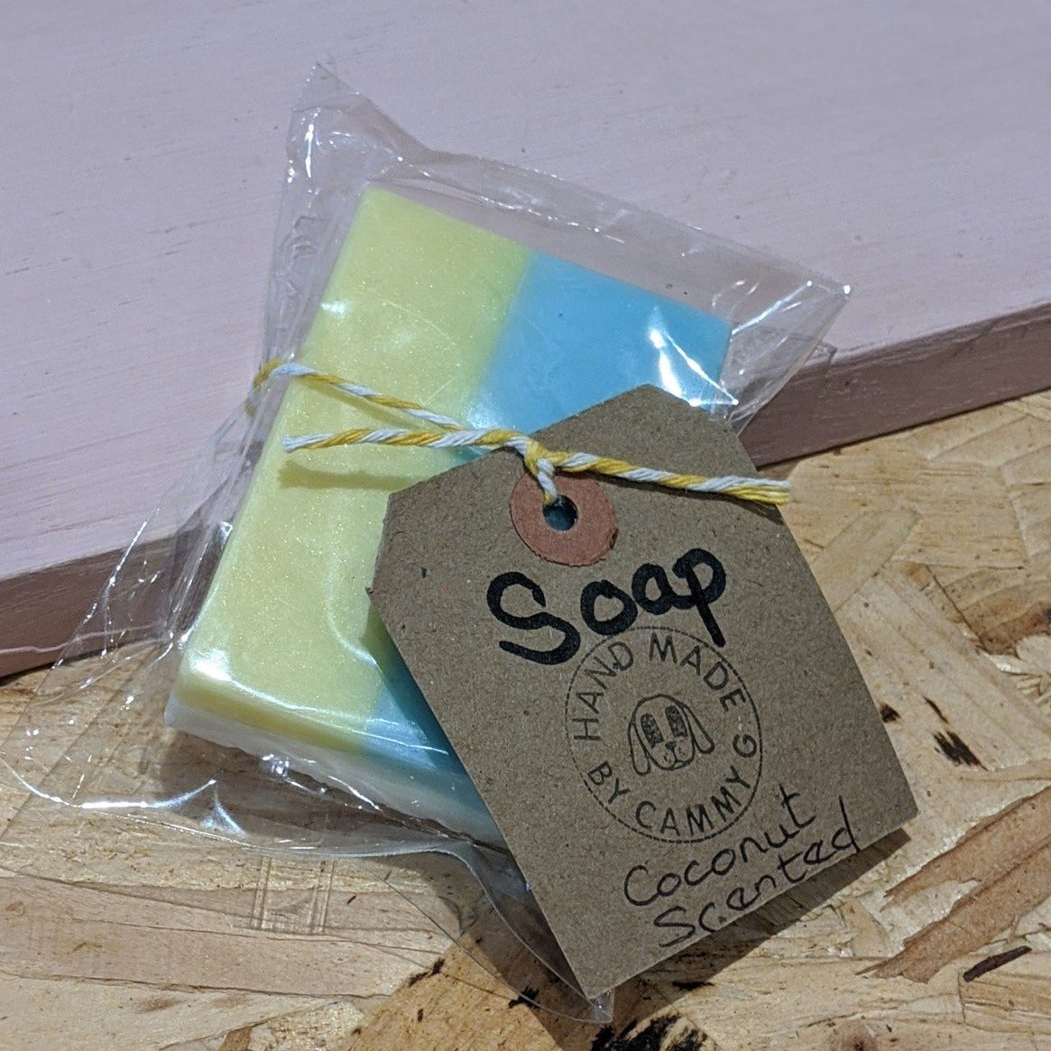 Vegan coconut scented soap