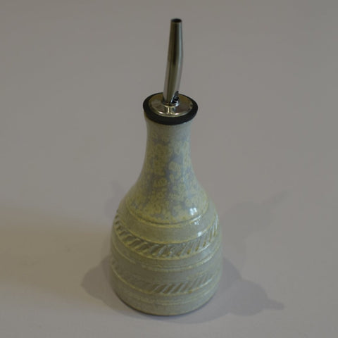 Buttermilk Ceramic oil pourer