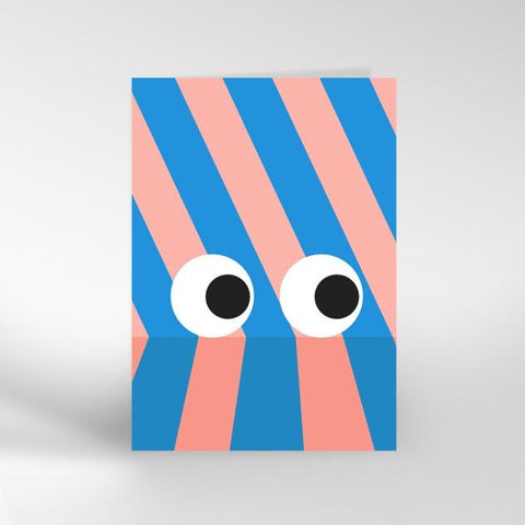 Eyes greeting card