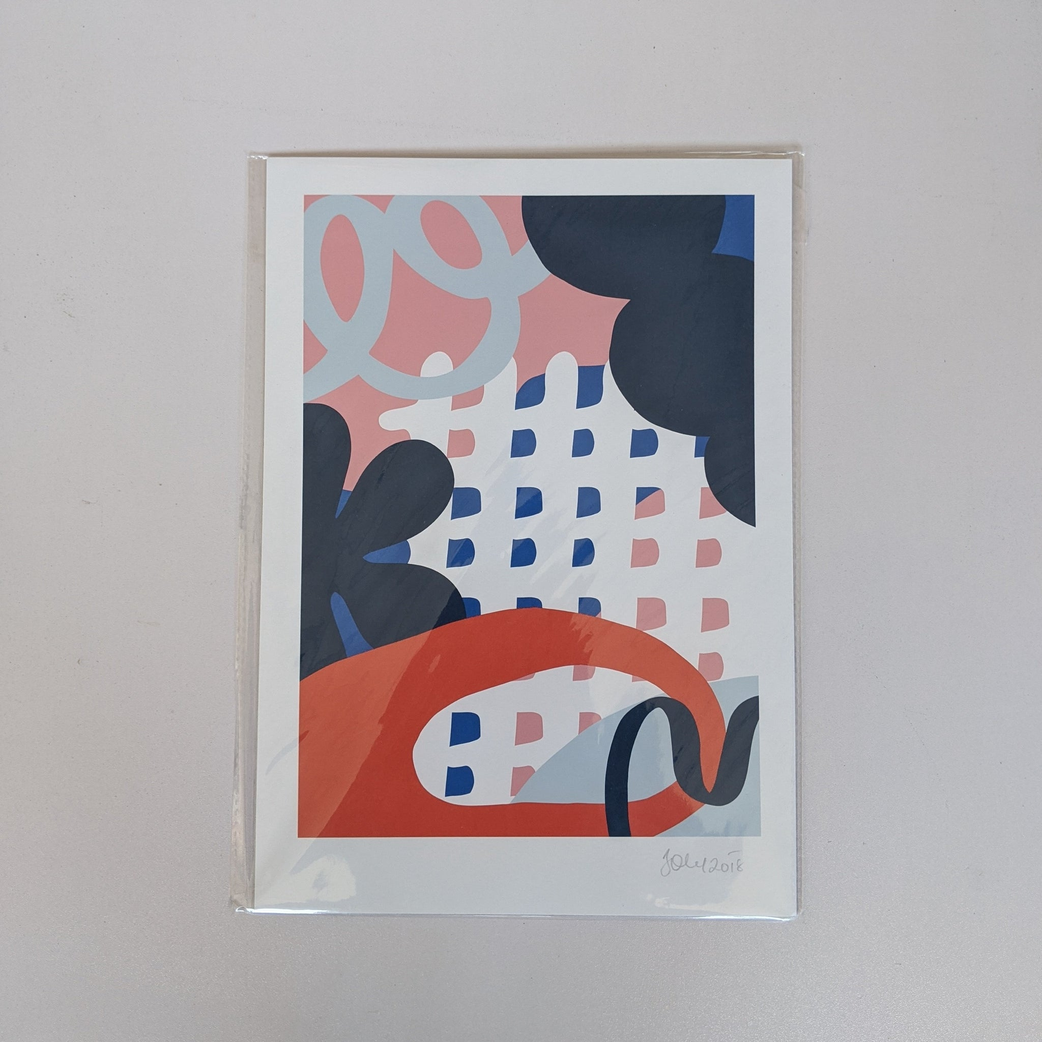 A4 mixed pattern print by Bearcubs