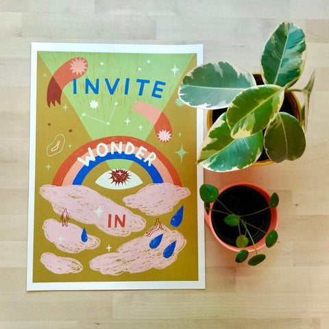 A3 Invite wonder in print