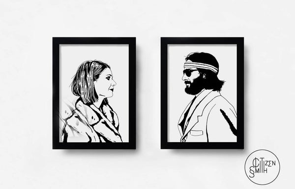 Margot and Richie Duo Print