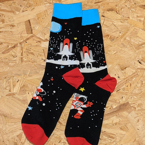 In to space socks