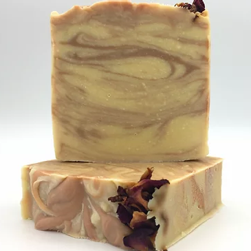 Rose Geranium goats milk soap