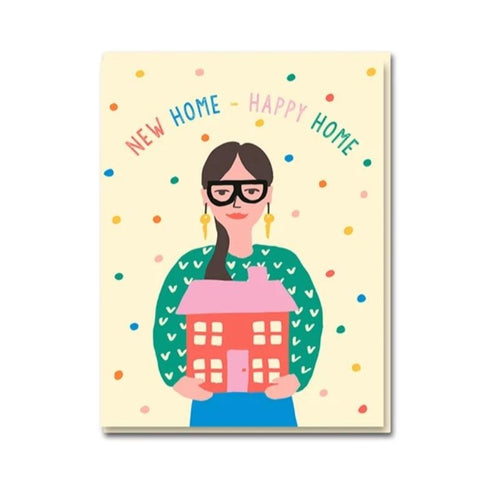 New home, happy home card