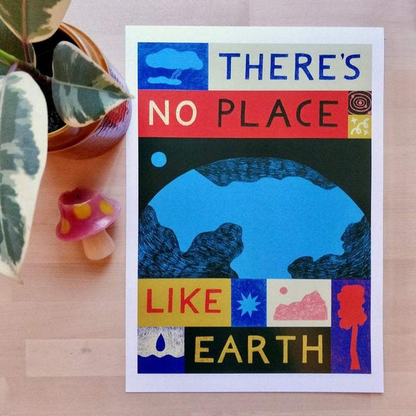 Theres no place like home print