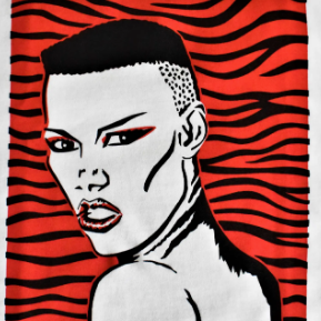 Grace Jones Tiger print