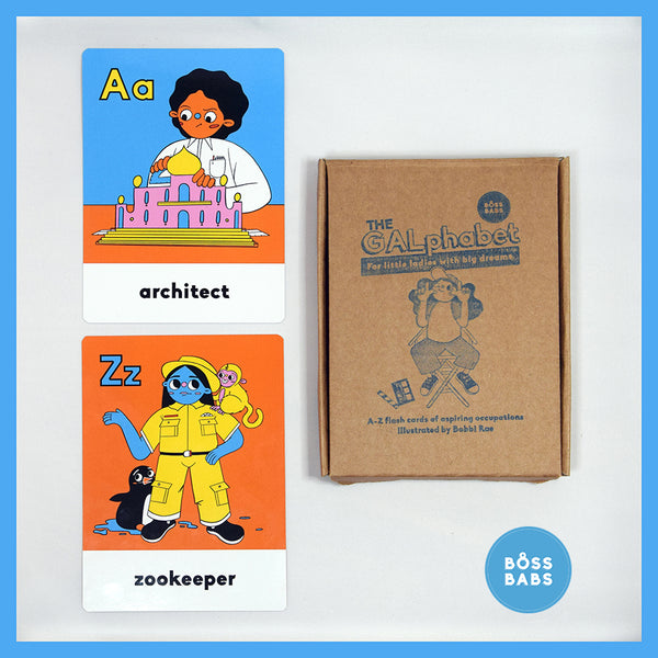 GALphabet flash cards for kids