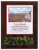Stadium Photo Plaque | Arkansas Razorback Wall Art Turf Relic