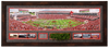 Panoramic Stadium View | Arkansas Razorback Wall Art Framed Turf Relic