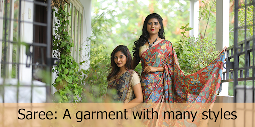 Saree: A Garment with many styles