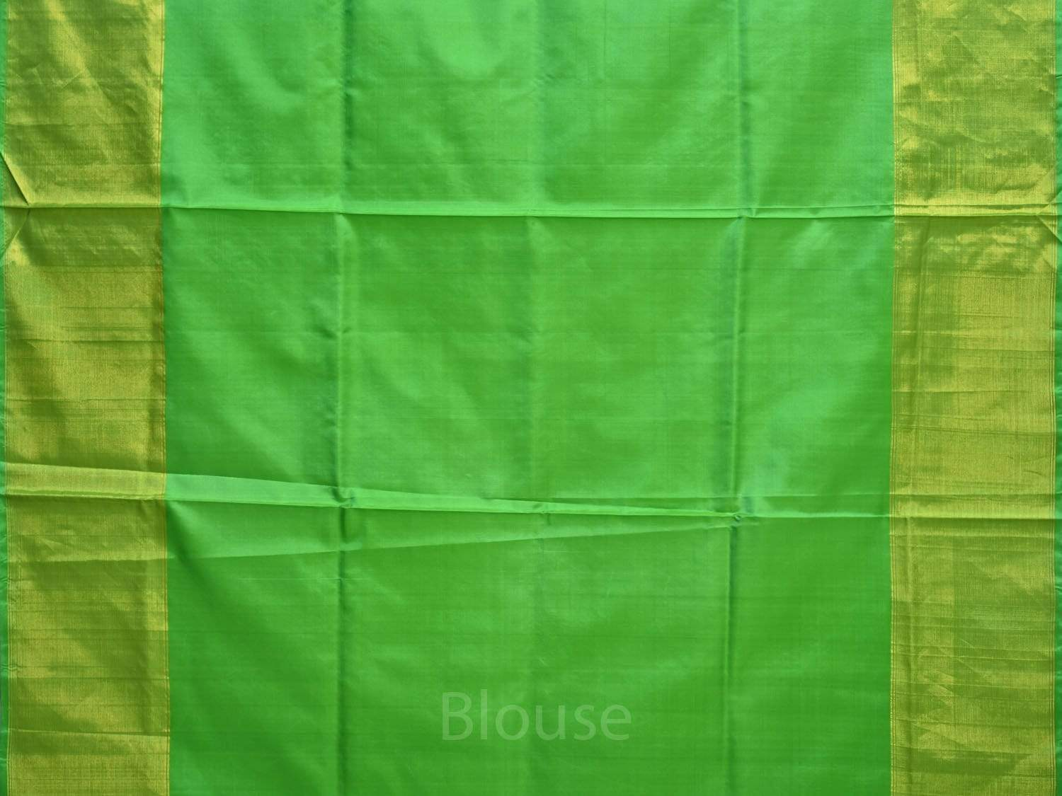 Green Uppada Silk Handloom Saree with Nilambari Buta Design u1565