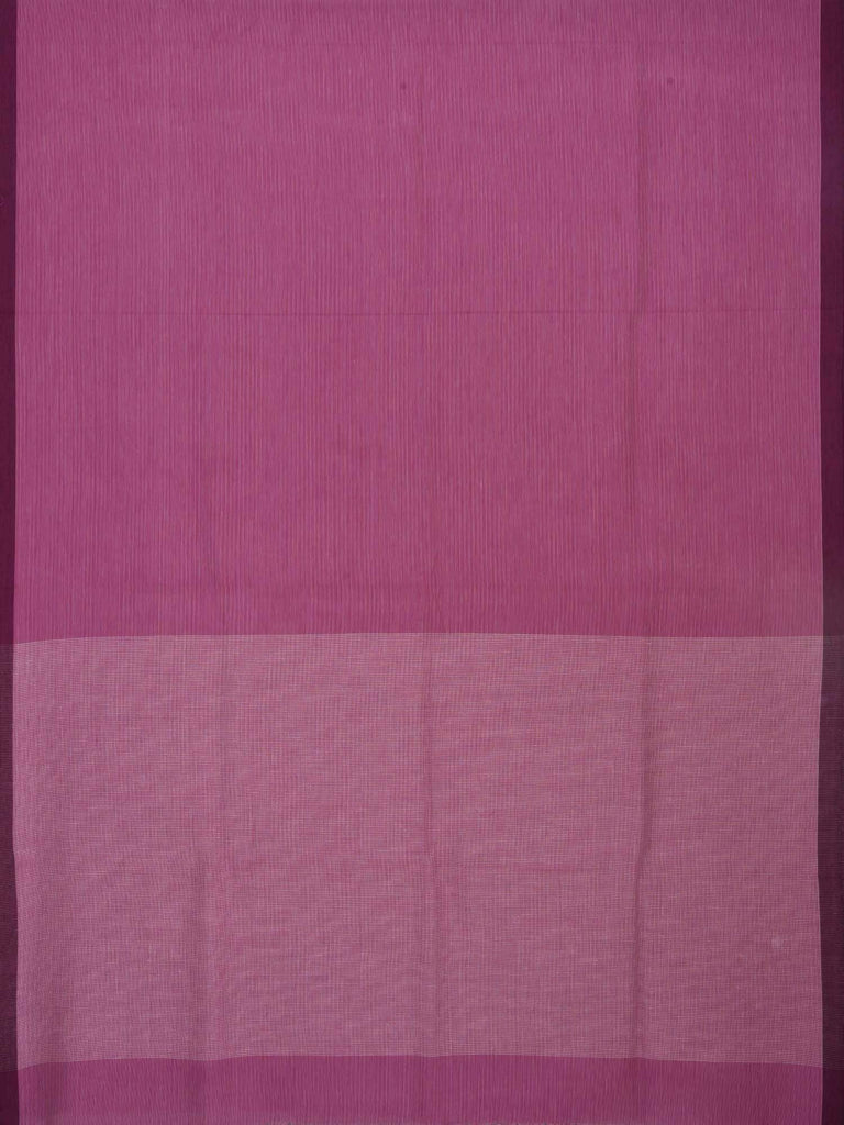Pink Organic Cotton Handloom Saree with Strips Design o0153