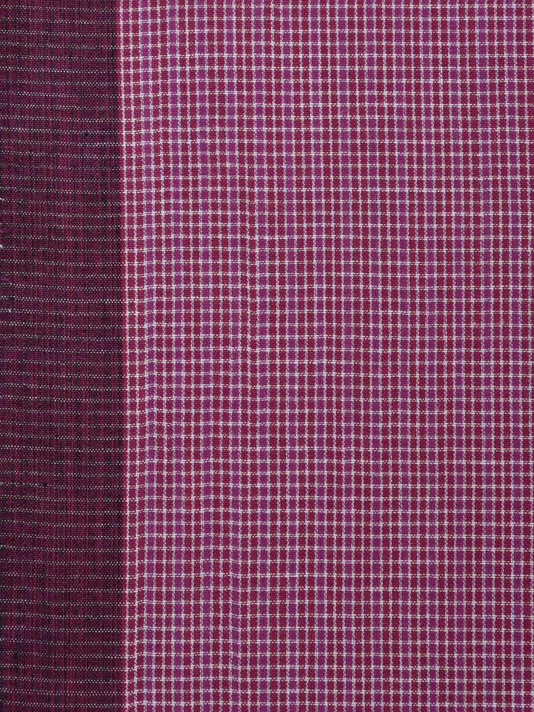 Pink Organic Cotton Handloom Saree with Strips Design o0163