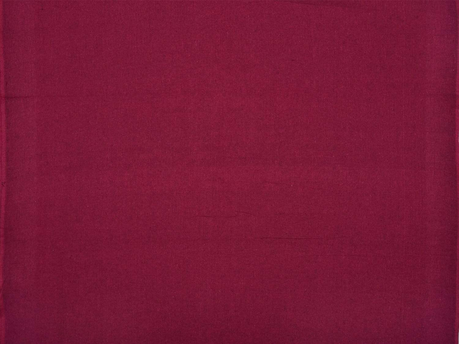 Purple Cotton Handloom Fabric Material with Plain Design f0151