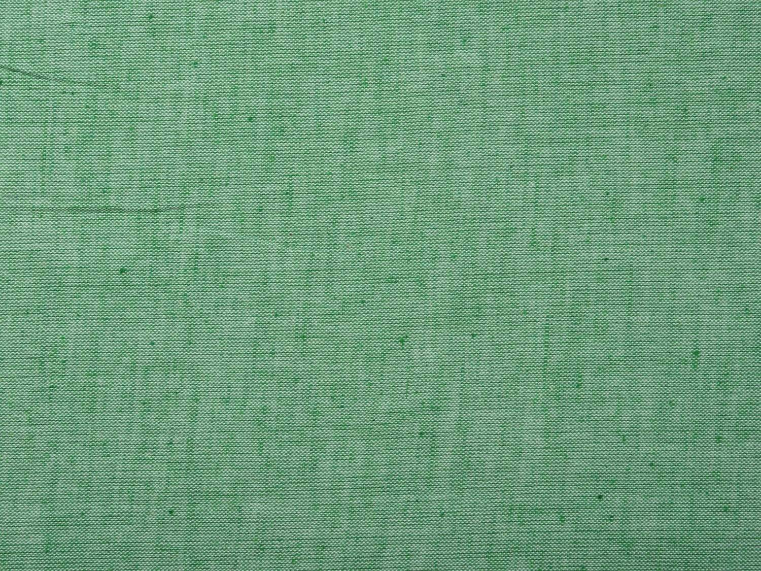 Sea Green Cotton Handloom Fabric Material with Plain Design f0150