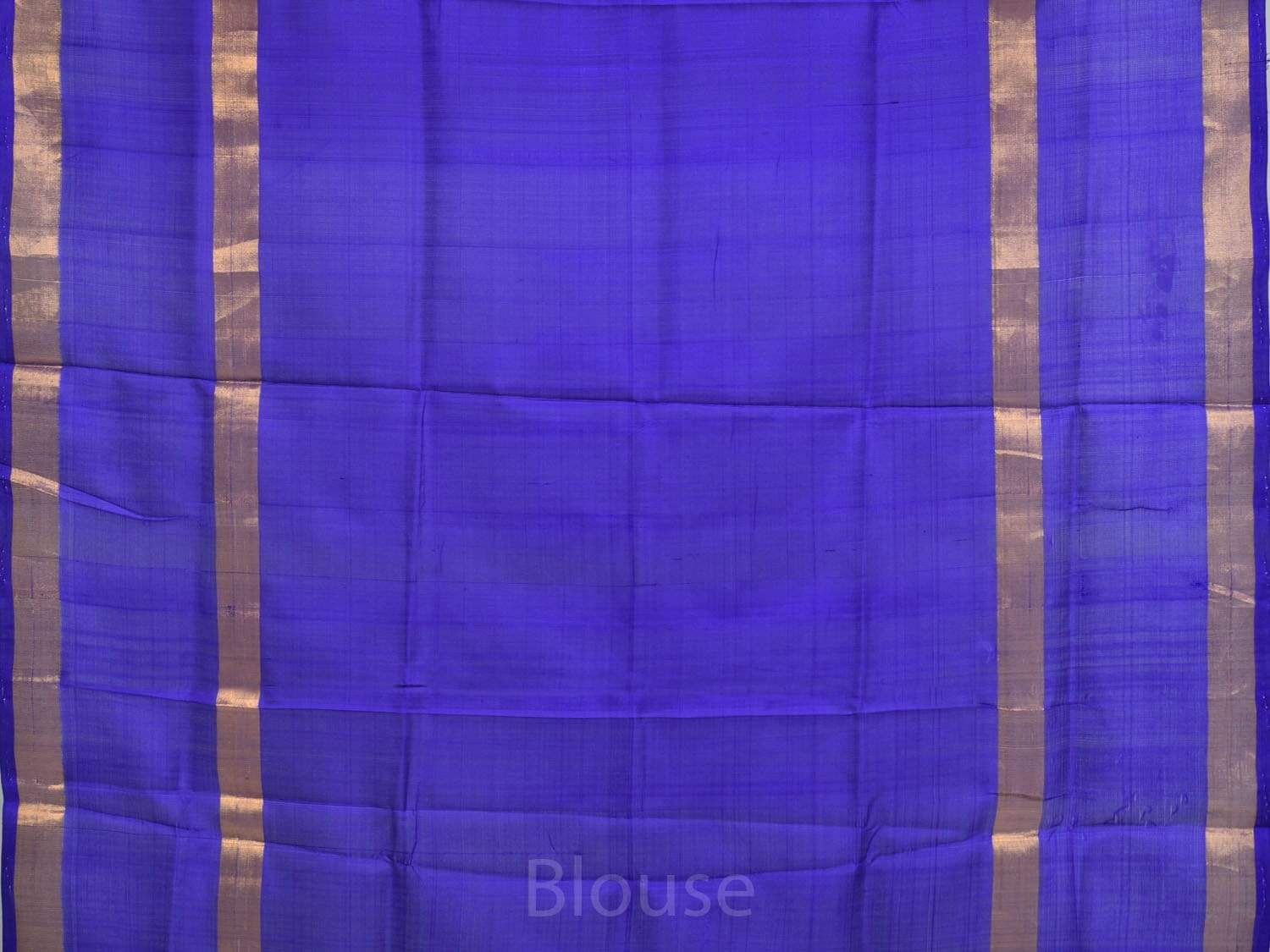 Yellow and Blue Uppada Silk Handloom Saree with Small Checks Design u1575