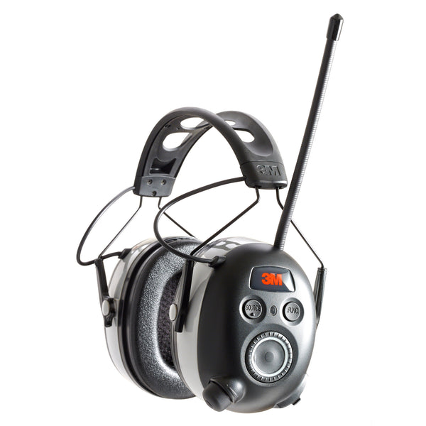 3m Worktunes Bluetooth Earmuffs Blk