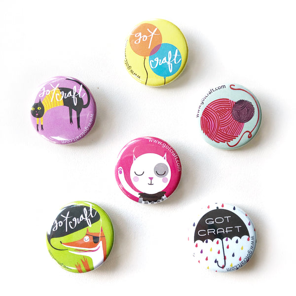 Got Craft? Button Set