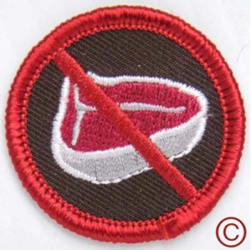 Adhesive Embroidery Badges
