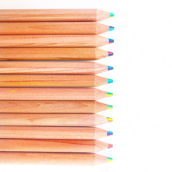 Seven Colour Rainbow Pencil
