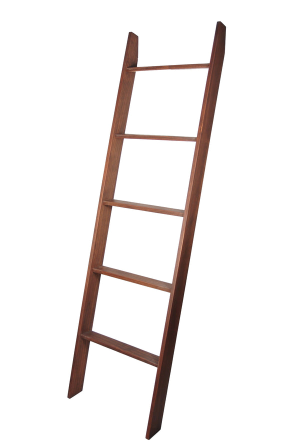 "Lucus Walnut 72"" Decorative Blanket Ladder 20'' x 72''"