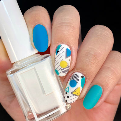 5 Rad 90's Inspired Nail Art Looks