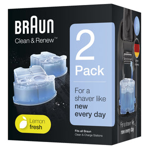 Braun Clean and Charge Refills CCR2 - Get a Cut NZ