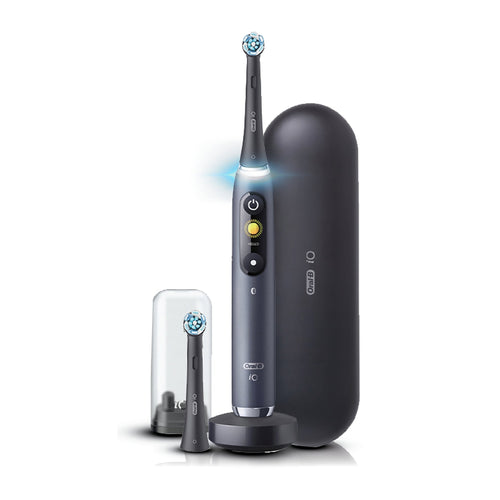 Braun Oral-B iO Series 9 Rechargeable Electric Toothbrush, Black Onyx IOS9B - Get a Cut NZ