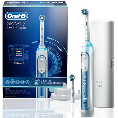Braun Oral-B Smart 7 7000 Electric Rechargeable Toothbrush S7000 - Get a Cut NZ