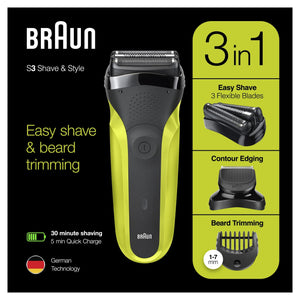 Braun Shave & Style Series 3 300BT - Get a Cut NZ