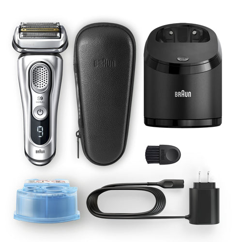 Braun Wet & Dry Foil Electric Shaver Series 9 9390cc - Get a Cut NZ
