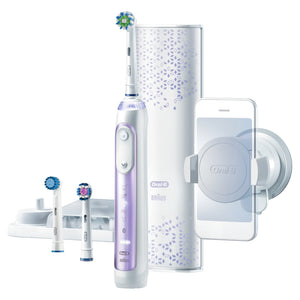 Oral-B GENIUS 9000 Orchid Purple Electric Toothbrush G9000PU - Get a Cut NZ