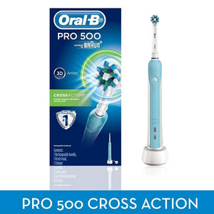 Oral-B PRO 500 Electric Rechargeable Toothbrush PRO500 - Get a Cut NZ