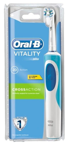 Oral-B Vitality Cross Action Rechargeable Power Toothbrush D12CA-2 - Get a Cut NZ