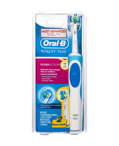 Oral-B Vitality Floss Action Rechargeable Power Toothbrush D12FA-2 - Get a Cut NZ