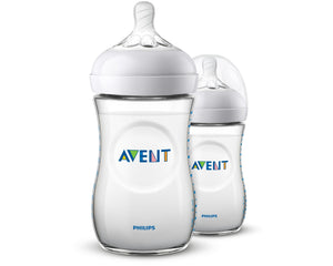 Philips Avent Natural Bottle 260ml 2 pack SCF033/27 ** Brand new! ** - Get a Cut NZ