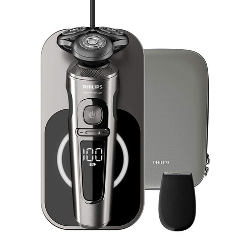 Philips Prestige Wet & Dry Electric Shaver Series 9000 SP9860/13 - Get a Cut NZ