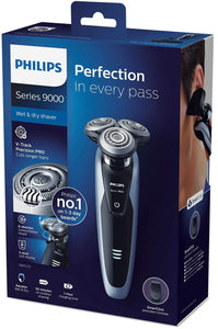 Philips Shaver Series 9000 V-Track with precision trimmer S9211/12 - Get a Cut NZ