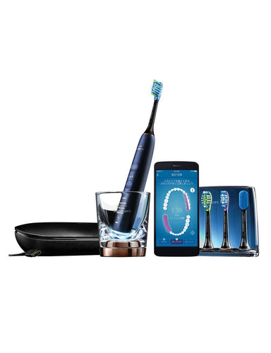 Philips Sonicare DiamondClean Connected Electric Toothbrush Luna Blue HX9954/56 - Get a Cut NZ