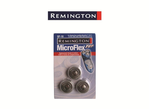 Remington Microflex Replacement Head and Cutters (SP18) - Get a Cut NZ