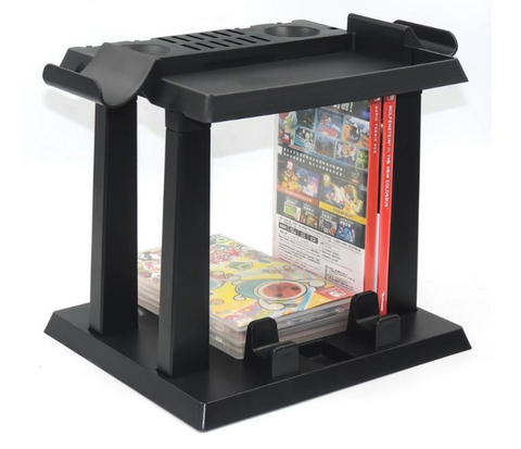Nintendo Switch stand for games controllers and pokeballs