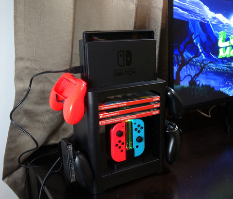 Nintendo switch cabinet stand