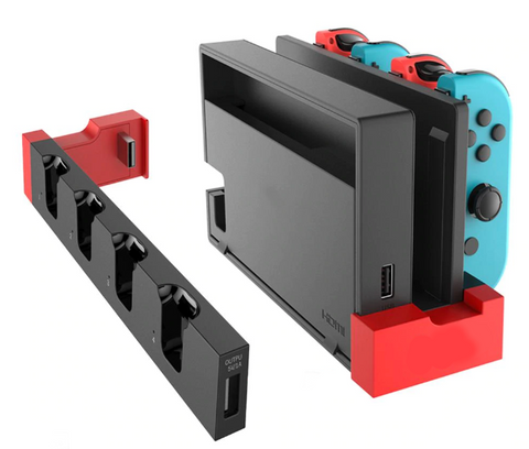 Charging base station for nintendo switch joy cons